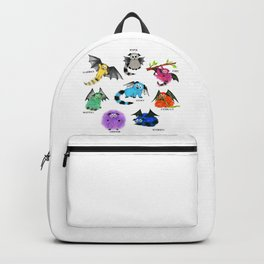 Eight Little Iggys Backpack
