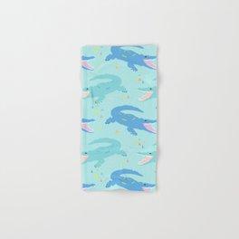 Nile Crocodile Rock Hand & Bath Towel