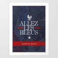 france Art Prints featuring France by liamhohoho