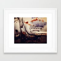 sport Framed Art Prints featuring Volvo Sport by Anna Dykema Photography