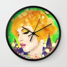 Digital Painting - Hayley Williams - Variation Wall Clock