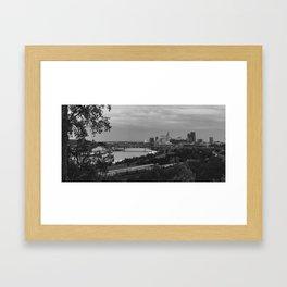 Saint Paul, MN Framed Art Print