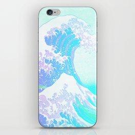 The Great Wave Unicorn iPhone Skin