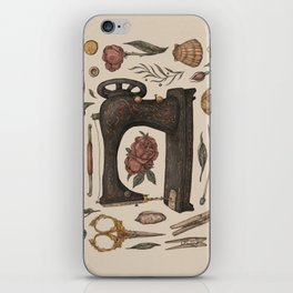 Sewing Collection iPhone Skin