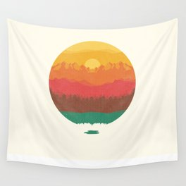 Layers Of Nature Wall Tapestry