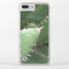 Agave Pads & Spines Clear iPhone Case