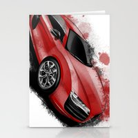 audi Stationery Cards featuring R8 V10 by an.artwrok
