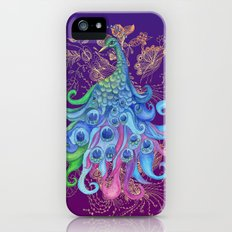 Peaceful Peacock  Slim Case iPhone (5, 5s)