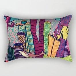 Dive Deep! Rectangular Pillow