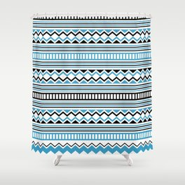 Tribal Scarf Shower Curtain
