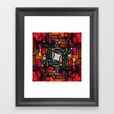 Conscious Framed Art Print