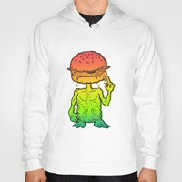 et Hoodies featuring ET Burger by beeisforbear