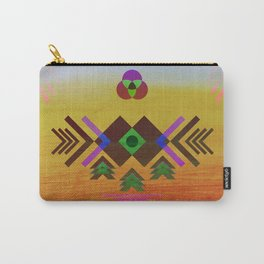 Geo Study 1 Carry-All Pouch