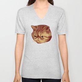 Fitzroy the Cat Unisex V-Neck