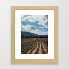 The fields of Tennessee Framed Art Print