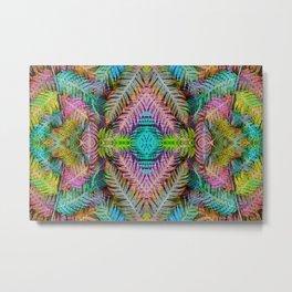 Rainbow Tribe Metal Print