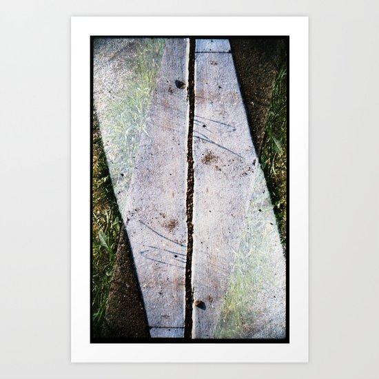 stage 4 (35mm multi exposure) Art Print
