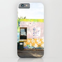 byron bay street art iPhone Case