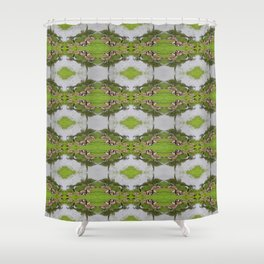 NC Geese Shower Curtain