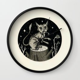 Caught Snacking Wall Clock
