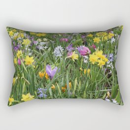 Flowers in the wild 02 Rectangular Pillow