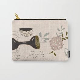 Neutral Still Life Carry-All Pouch