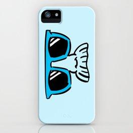 Too Cool (cyan) iPhone Case