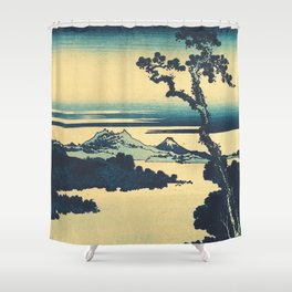 Looking Left at Hine Shower Curtain