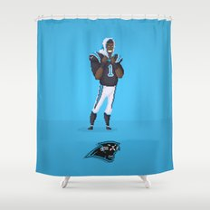Cam Newton Shower Curtain