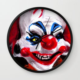 It Was Not A Circus Tent, It Was Something Else Wall Clock