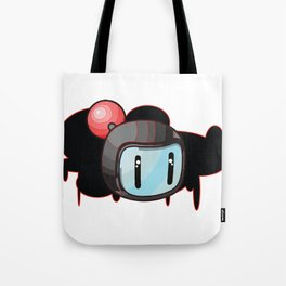 The Red Bomber  Tote Bag