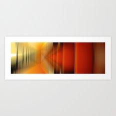 FarbWelten Stadt#o1 Art Print