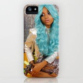 Barbarella III iPhone Case