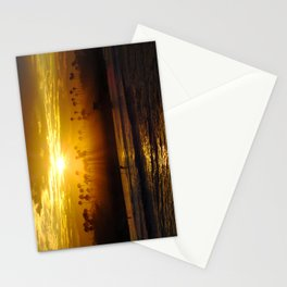 Misty Sunrise * Huntington Beach, California Stationery Cards