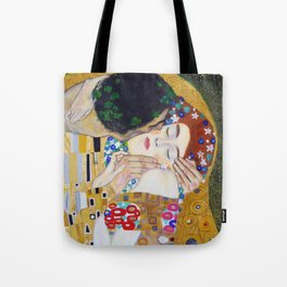 The Kiss by Kustav Klimt - Version by Nymphainna Tote Bag