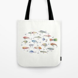 Fishing Lures Tote Bag