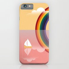 Rainbow by the Sea Slim Case iPhone 6s