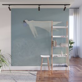 Afloat (Water Woman X) Wall Mural