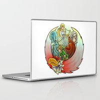 sword Laptop & iPad Skins featuring Skyward Sword  by Stanglass