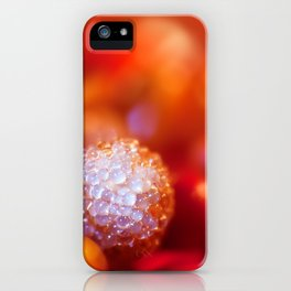 SERIES »MICROPEARLS« I iPhone Case