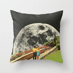 Moonwalk love Throw Pillow
