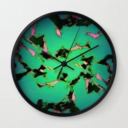 An interrupted glow Wall Clock