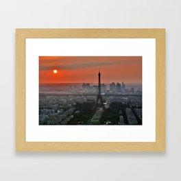 Beautiful Paris Framed Art Print
