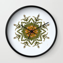 The Colors of Fall.... Wall Clock