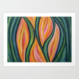 Abstract Painting 64 Art Print