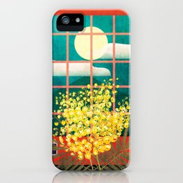 I look outside iPhone Case