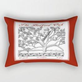 The Bedford Oak Zentangle Illustration Rectangular Pillow