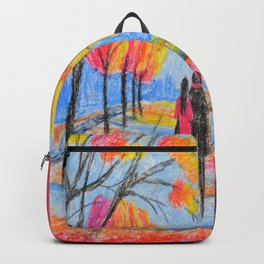 Autumn in the park Backpack