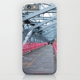 Across the Williamsburg Bridge iPhone Case