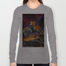 Texas Ghost Rider Long Sleeve T-shirt
